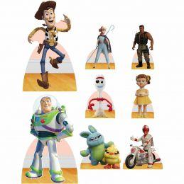 Kit Decoração Festa Totem Display Toy Story 4 - 8 Peças