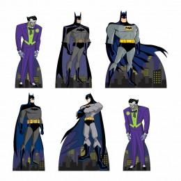 Kit Festa 6 Displays de Mesa Aniversário Batman
