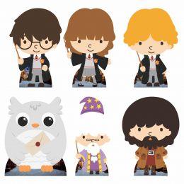 Kit Festa 6 Displays de Mesa Aniversário Harry Potter