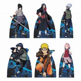 Kit Festa 6 Displays de Mesa Aniversário Naruto
