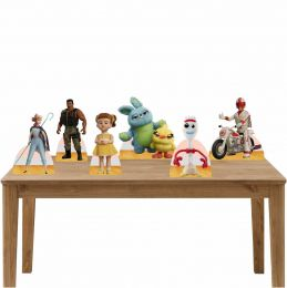 Kit Festa 6 Displays de Mesa Aniversário Toy Story 4