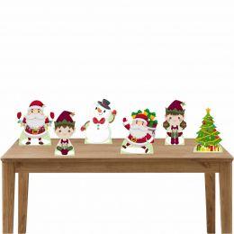 Kit Festa 6 Displays de Mesa Natal