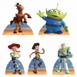 Kit Festa 9 Displays de Mesa Aniversário Toy Story