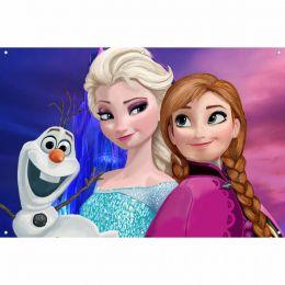 Painel de Festa Lona Frozen 4