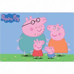 Painel de Festa Lona Peppa Pig