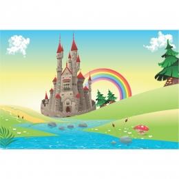 Painel de Festa Lona Princesas Cute