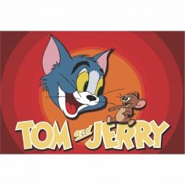 Painel de Festa Lona Tom e Jerry