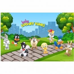 Painel em lona Baby Looney Tunes
