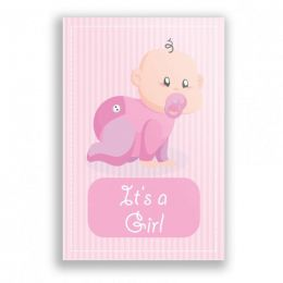 Placa Decorativa It's a girl