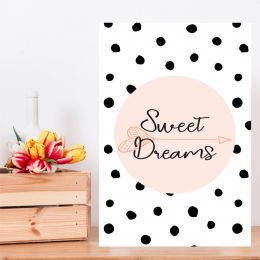 Placa Decorativa Sweet Dreams