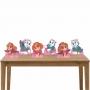 Kit 1 Decorativo 6 Displays de Mesa Patrulha Canina Menina