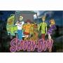 Kit 6 Displays de Mesa e Painel Scooby Doo