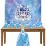 Kit Decoração de Festa Totem Display 8 peças Cinderela