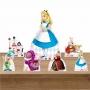 Kit Decoração de Festa Totem Display Alice no País das Maravilhas II - 7 Peças