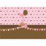 Painel de Festa Cupcakes e Bolo em lona