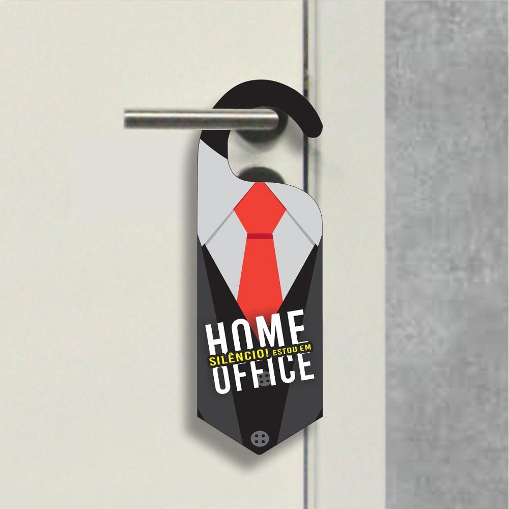 Aviso de Porta - Home Office