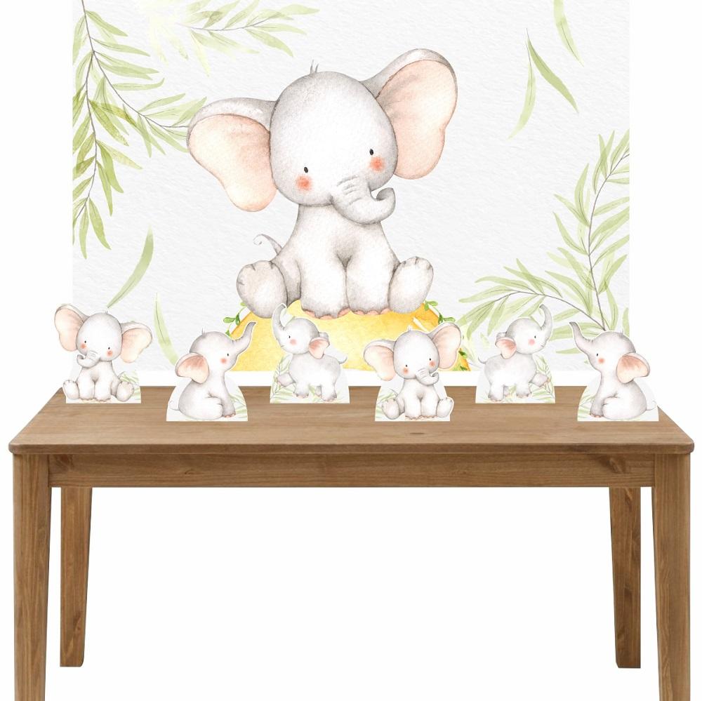 Kit 6 Displays de Mesa e Painel Elefante