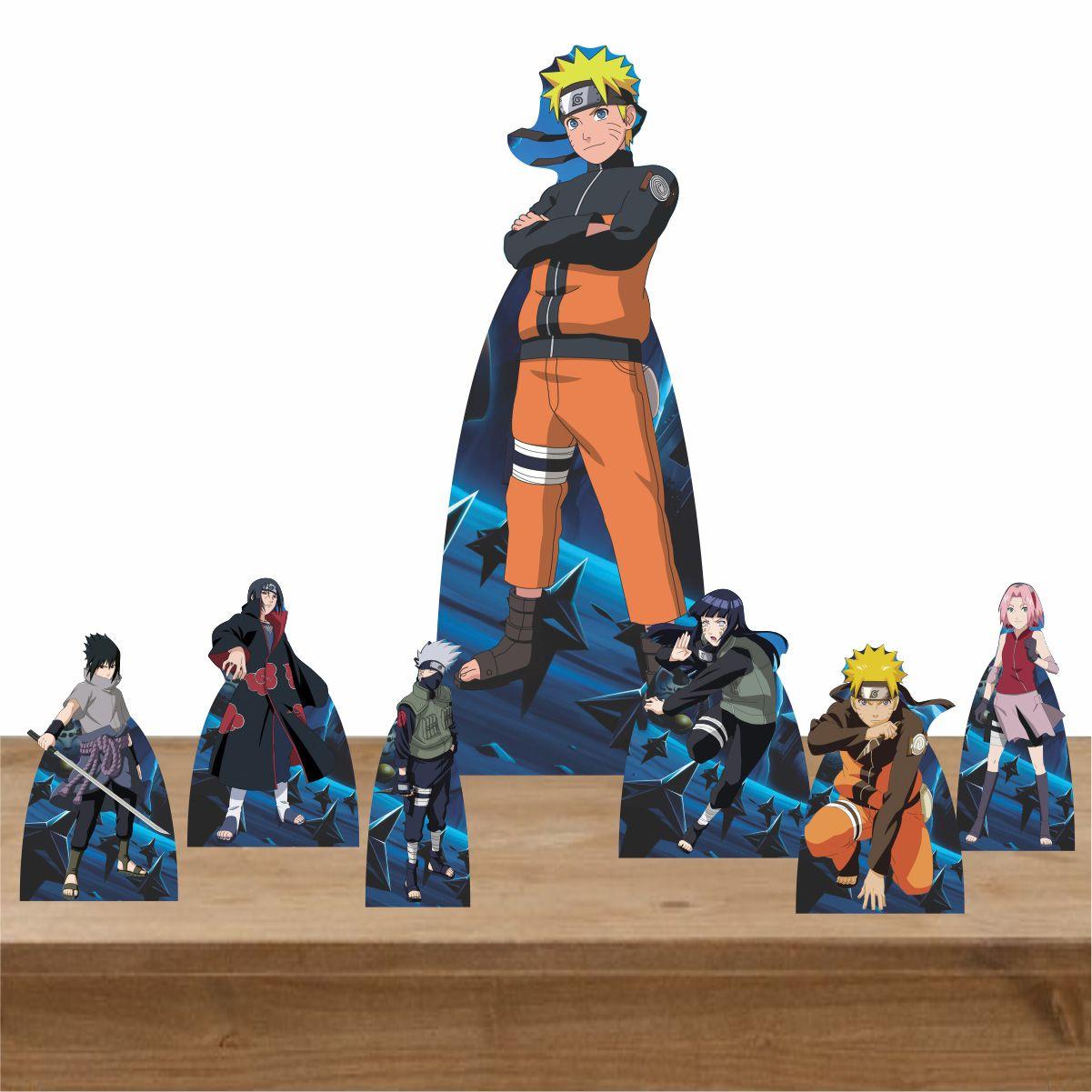 Kit Decoração de Festa Totem Display Naruto