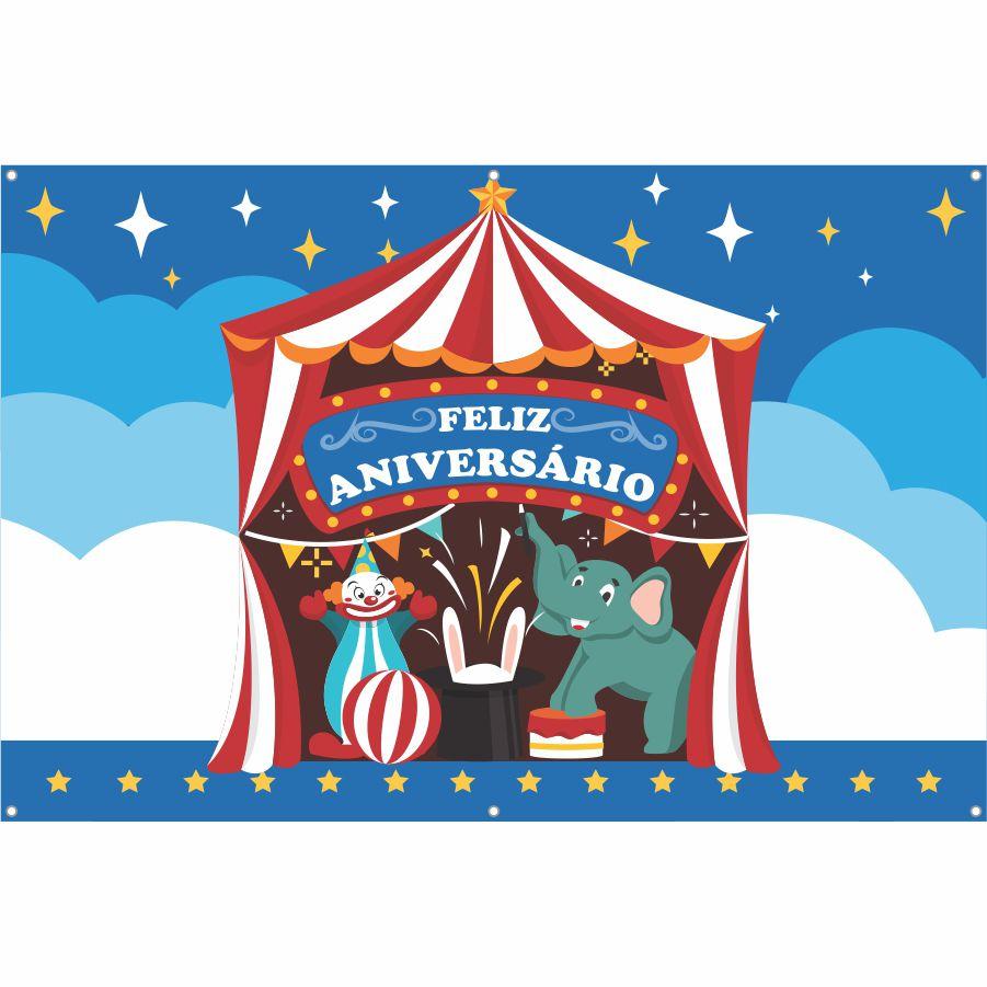 Painel de Festa Lona Circo