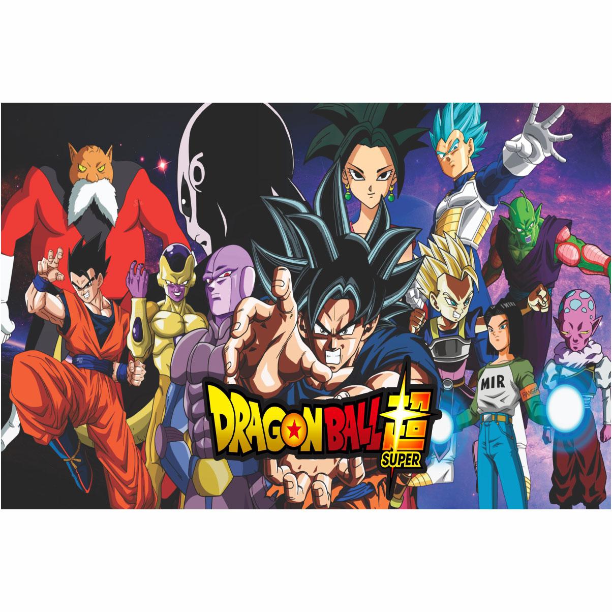 Painel de Festa Lona Dragon Ball