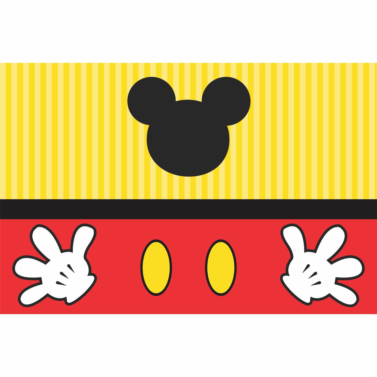 Painel de Festa Lona Mickey