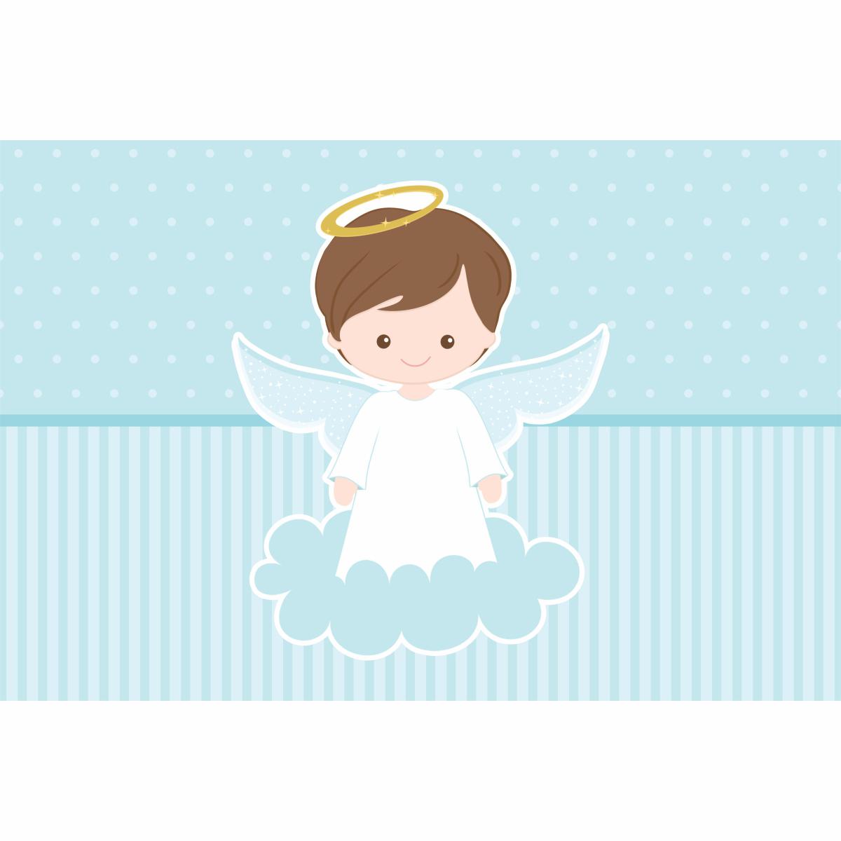 Painel em lona Batizado Menino