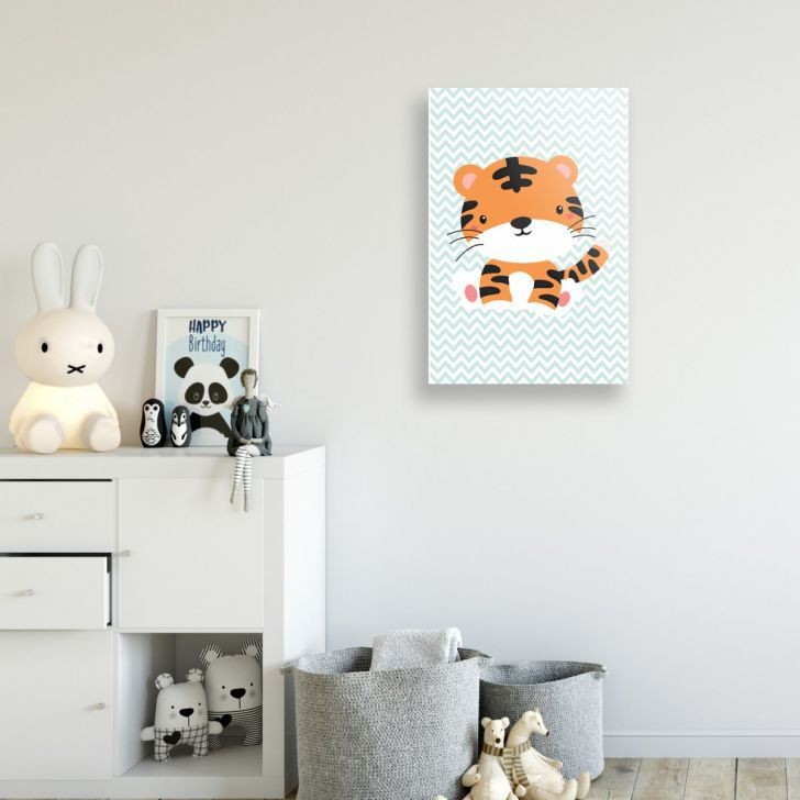 Placa Decorativa Tigre