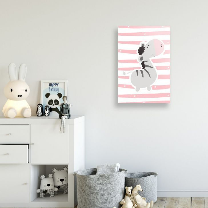Placa Decorativa Zebra