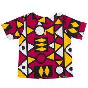 Blusa bata infantil africana Ruanda