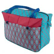 Bolsa de maternidade pink and blue