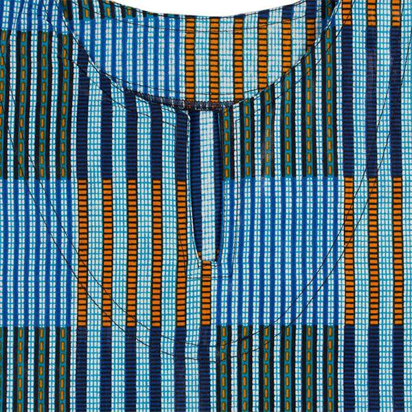 Blusa bata africana infantil Liberia