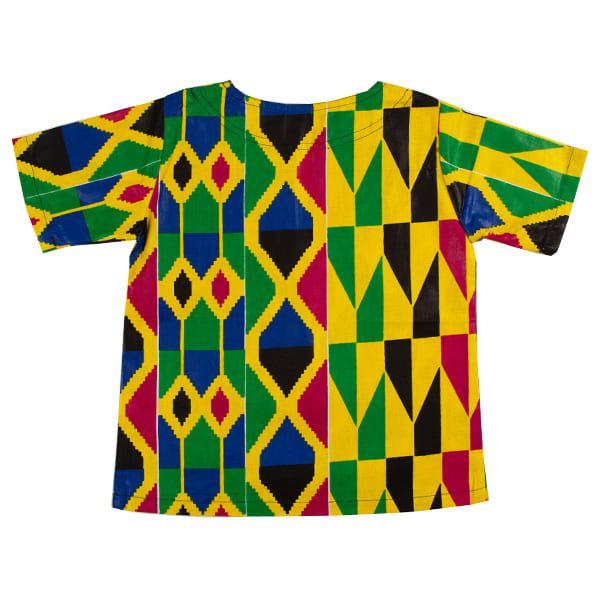 Blusa bata infantil africana Malaui
