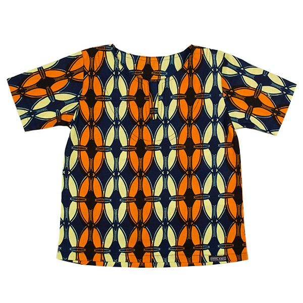 Blusa bata infantil africana Senegal