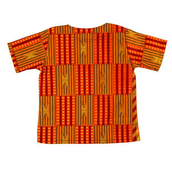 Blusa bata infantil africana Zimbabue