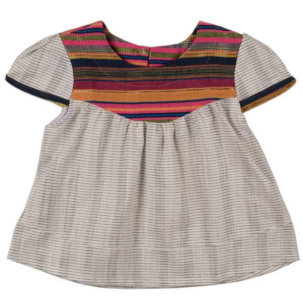 Blusa infantil étnica colors