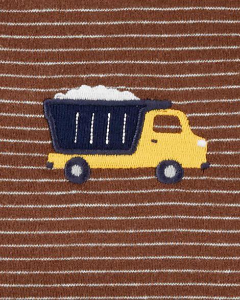 Body carter's manga curta caminhão