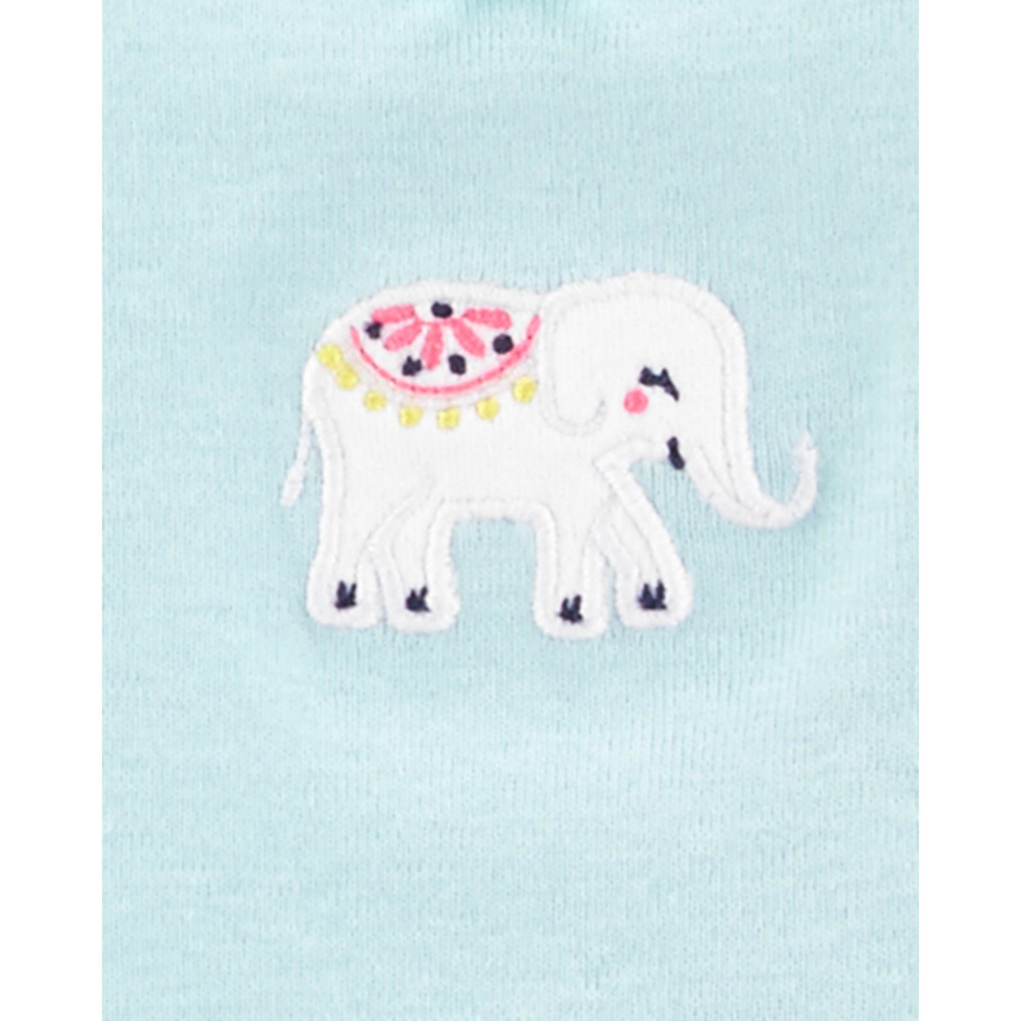 Body carter's manga curta elefante