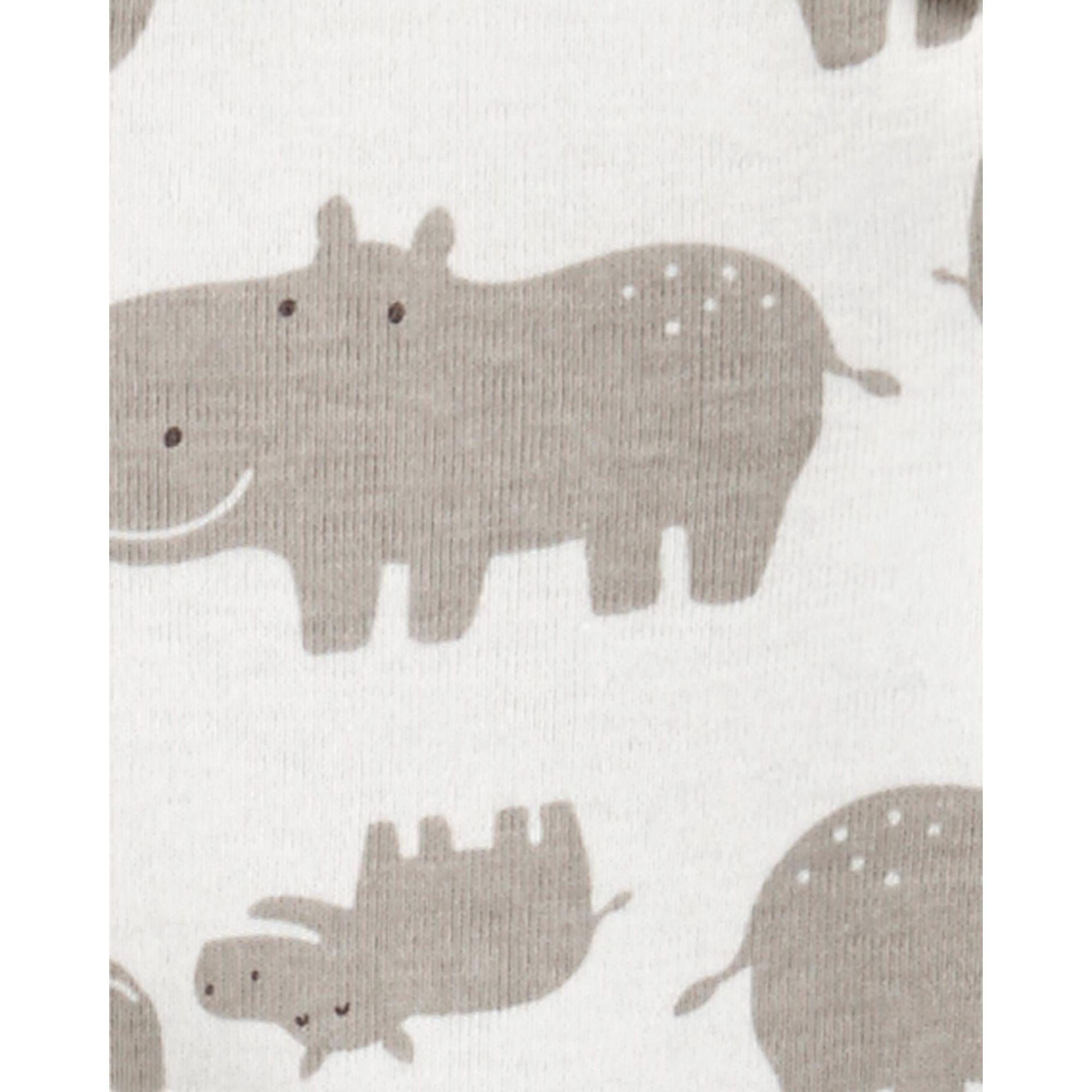 Body carter's manga longa hipopótamo