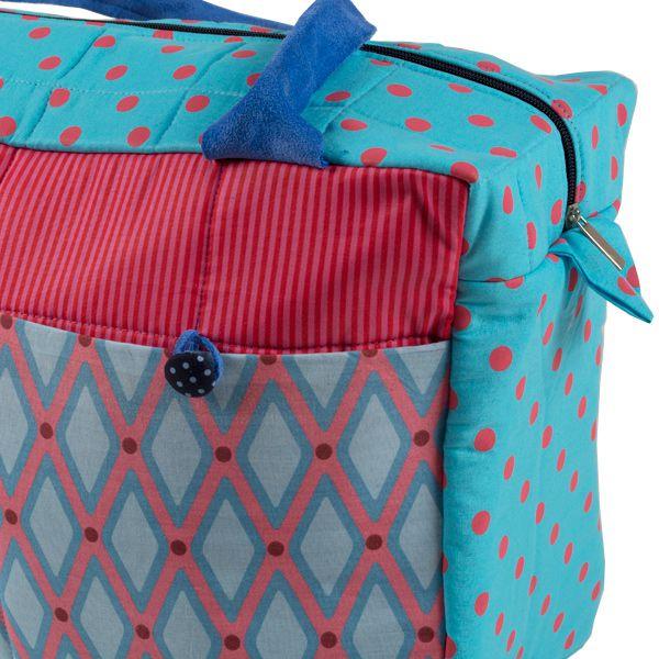Bolsa de maternidade pink and blue