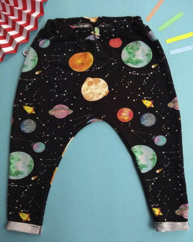 Calça infantil galáxia wool kids