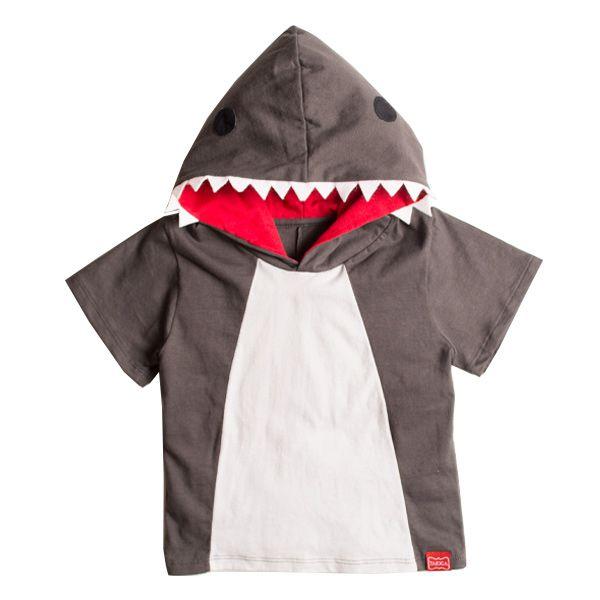 Camiseta infantil menino tubarão