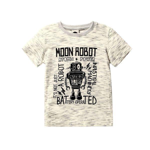 Camiseta infantil Pistol Star robot