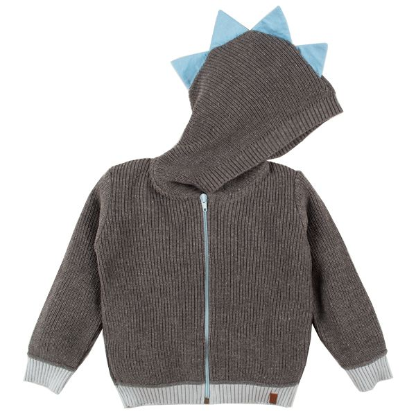 Casaco infantil tricô masculino dino