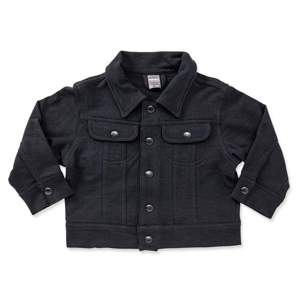 Jaqueta infantil moletom black