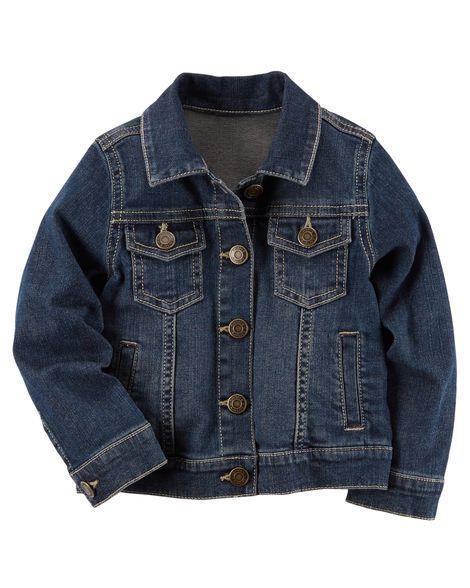 Jaqueta jeans infantil carter's