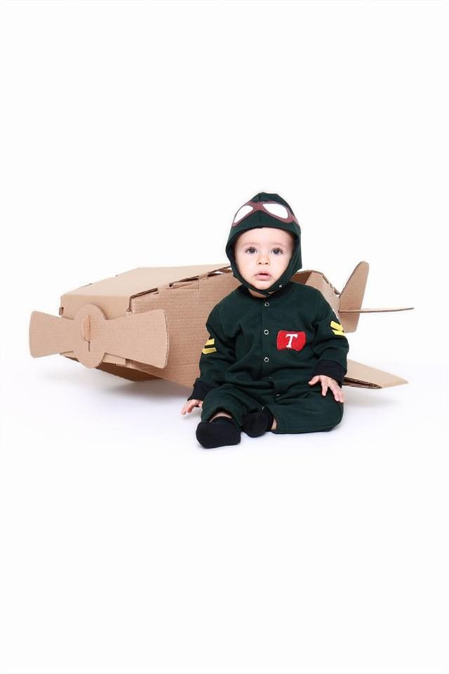 Macacão moletom infantil baby aviador