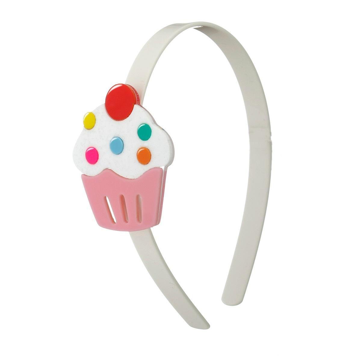 Tiara de cabelo cupcake