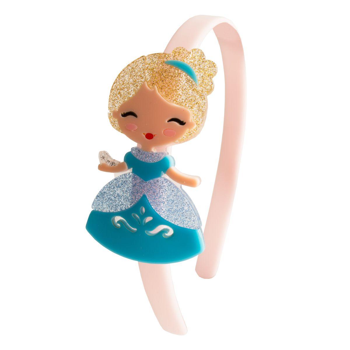 Tiara infantil de princesa acrílico