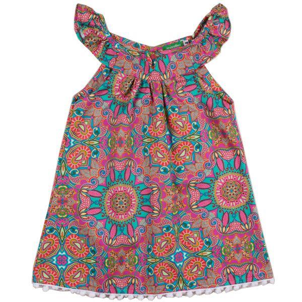 Vestido infantil bem-me-quer