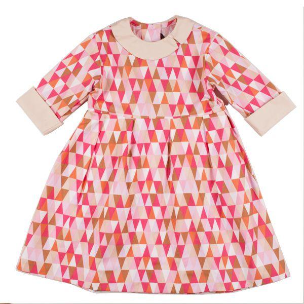 Vestido menina origami